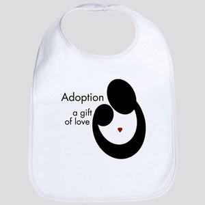 ADOPTION GIFT OF LOVE Bib